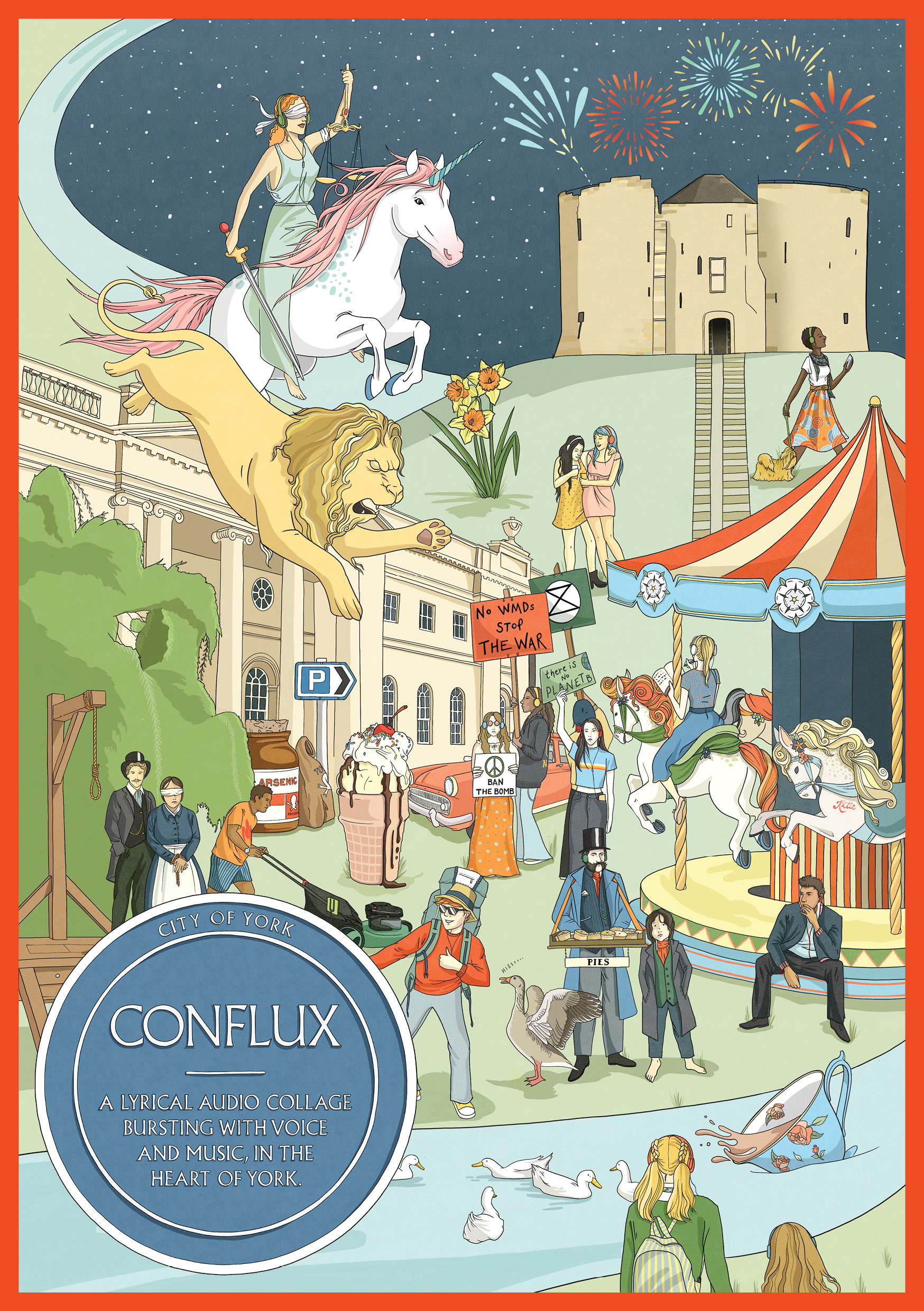 Conflux – A journey through York's oldest site of stronghold, power and resistance